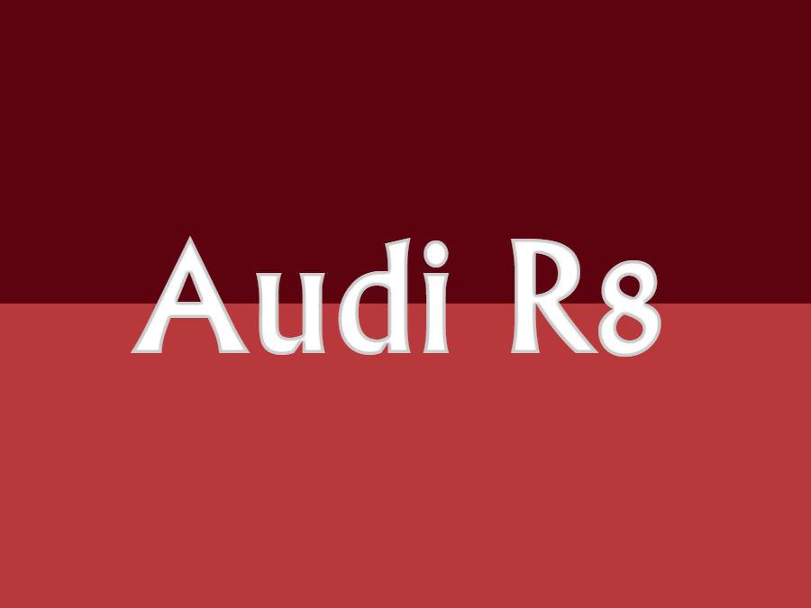 アウディ R8